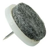 KARWEI viltglijder 30mm grijs 4 stuks