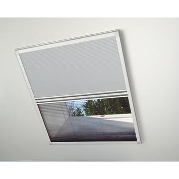 Bruynzeel raamhor duoplissé s500 117x121 cm wit