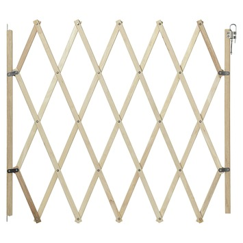 Trap- en deurhekje Sam hout 60cm-108cm