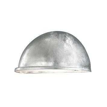 Konstsmide buitenlamp Torino flush gegalvaniseerd 28cm