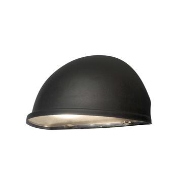 Konstsmide buitenlamp Torino flush matzwart 28cm