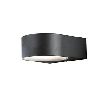 Konstsmide buitenlamp Teramo zwart 17cm