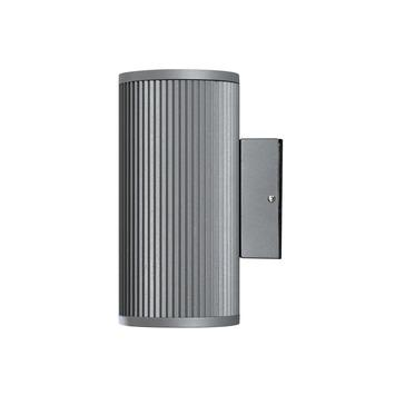 Konstsmide buitenlamp Siracusa 20,5cm antraciet