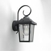 Philips wandlamp Buzzard 60W zwart
