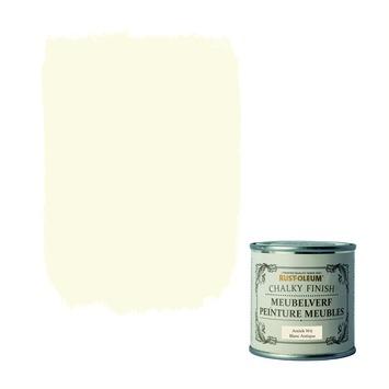Rust-oleum Chalky Finish Meubelverf antiek wit 125 ml