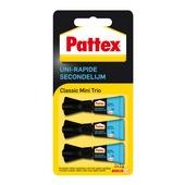 Pattex secondelijm mini trio