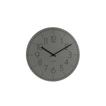 Karlsson wandklok Blade grijs 40x4 cm