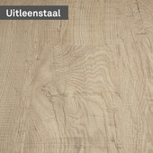 vtwonen pvc staal loose lay Rough oak Chalked 25 x 21 cm