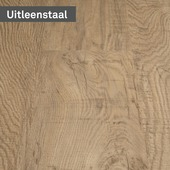 vtwonen pvc staal loose lay Rough oak Blond 25 x 21 cm
