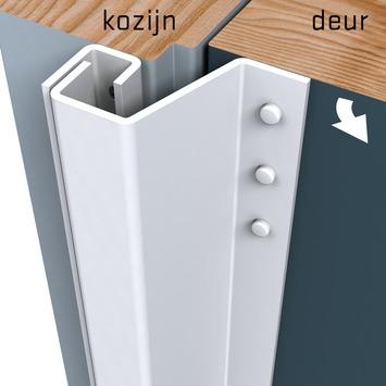 Secu anti-inbraakstrip Plus achterdeur SKG 1-ster 211,5 cm 7-13 mm wit