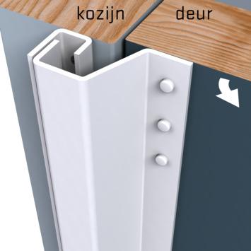 Secu anti-inbraakstrip Plus achterdeur SKG1 211,5 cm 0-6 mm wit