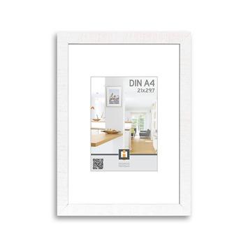 Fotolijst hout wit 21x30 cm
