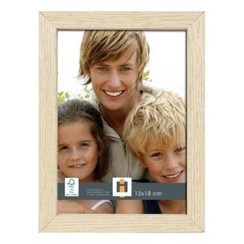 Fotolijst hout wit 30x40 cm