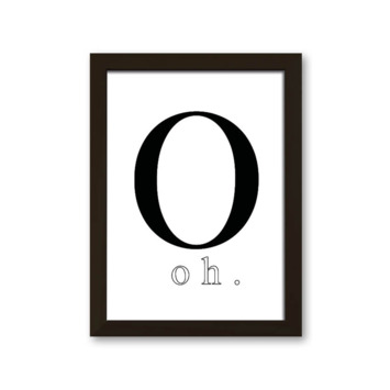 Fotolijst hout smal zwart 13x18 cm