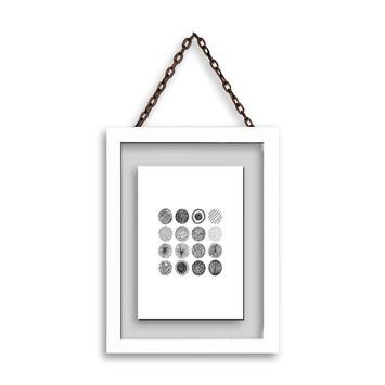 Fotolijst hout wit 15x20 cm