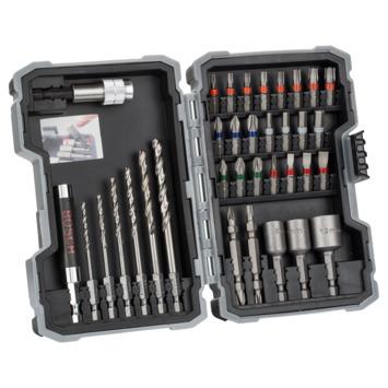 Bosch boren & bitsets 35 delig voor metaal