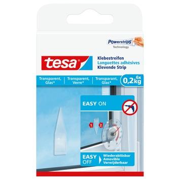 Tesa Klevende Strips voor Transparant & Glas 0,2 kg