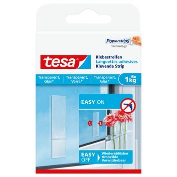 Tesa Klevende Strips voor Transparant & Glas 1 kg