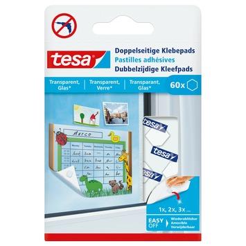 De Tesa Dubbelzijdige Kleefpads voor Transparant & Glas