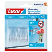 Tesa Klevende Haak voor Transparant & Glas 1 kg