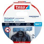 Tesa Montagetape voor Tegels & Metaal 100 kg/m