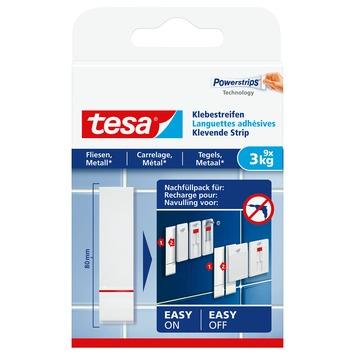 De Tesa Klevende Strips voor Tegels & Metaal 3 kg