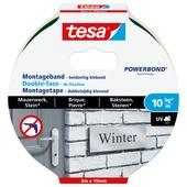 Tesa Montagetape voor Baksteen & Natuursteen 10 kg/m