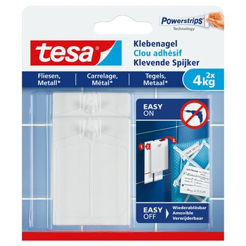Tesa Klevende Spijkers voor Tegels en Metaal