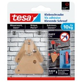 Tesa Klevende Schroef Driehoekig voor Baksteen & Natuursteen