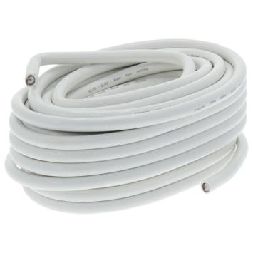 Uitzonderlijk Q-Link coax kabel 20 meter wit kabelkeur kopen? audio-video FM71