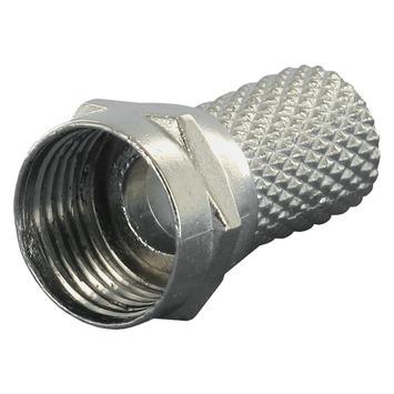 Q-Link coax F-wartel 5mm 6 stuks