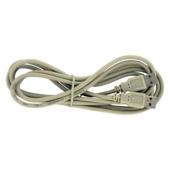 Q-Link USB kabel 2.0 USB-A male/male 2 meter grijs