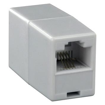 Q-Link telefoon koppelstuk ISDN modulair RJ11 4P wit