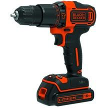 Black & Decker accuschroefklopboormachine BDCHD18K-QW 18V