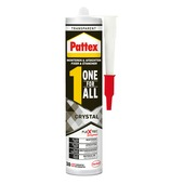 Pattex montagekit One for ALL Crystal transparant 290 gr