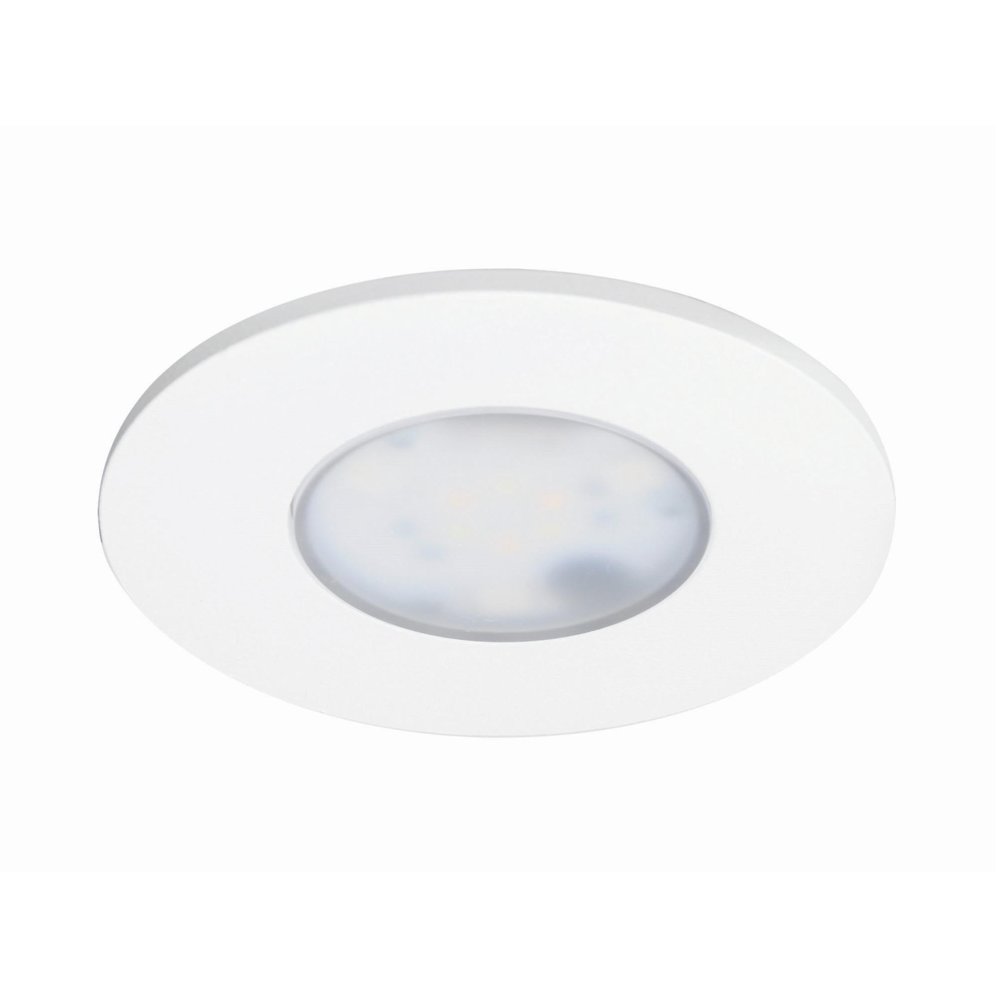 iDual Performa LED badkamer inbouwspot 1 stuk dimbaar alu rond wit zonder afstandsbediening