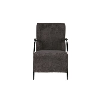 WOOOD fauteuil Halifax ribcord antraciet