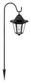 Lantaarn Solar Eglo LED zwart