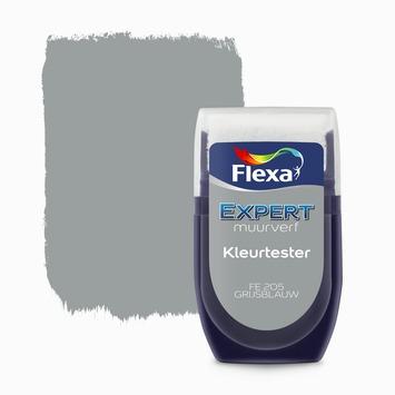 Flexa Expert muurverf kleurtester grijsblauw 30 ml
