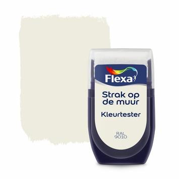 Flexa Strak op de muur kleurtester RAL 9010 gebroken wit 30 ml