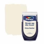 Flexa Strak op de muur kleurtester ivoorwit 30 ml