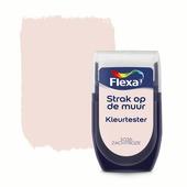 Flexa Strak op de muur kleurtester zachtroze 30 ml