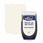 Flexa Strak op de muur kleurtester eiwit 30 ml