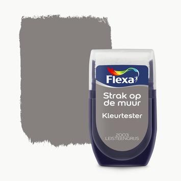Flexa Strak op de muur kleurtester leisteen grijs 30 ml