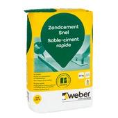 Weber SG vloermortel lichtgrijs 20 kg