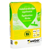 Weber SG Vloervlak Mortel Slechte Ondergrond Grijs 20 KG