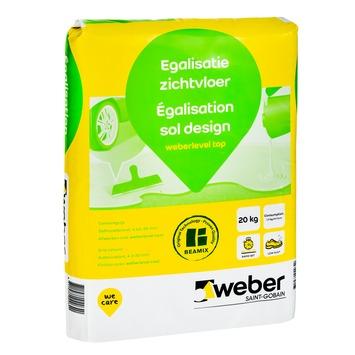 Weber Egalisatie zichtvloer 20 kg.