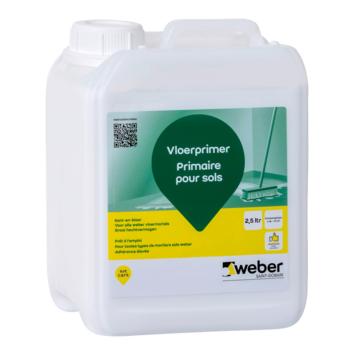Weber SG vloerprimer 2,5 liter