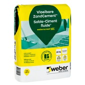 Weber SG vloeibaar zandcement 20 kg