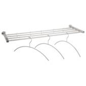Garderoberek Novidade met hangers RVS